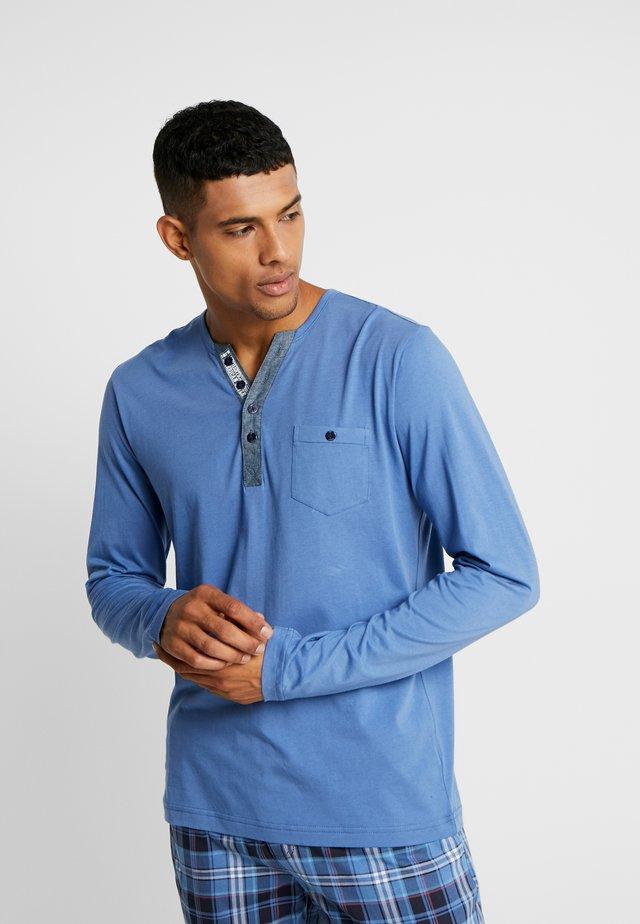 LONGSLEEVE - Nachtwäsche Shirt - jeans blue
