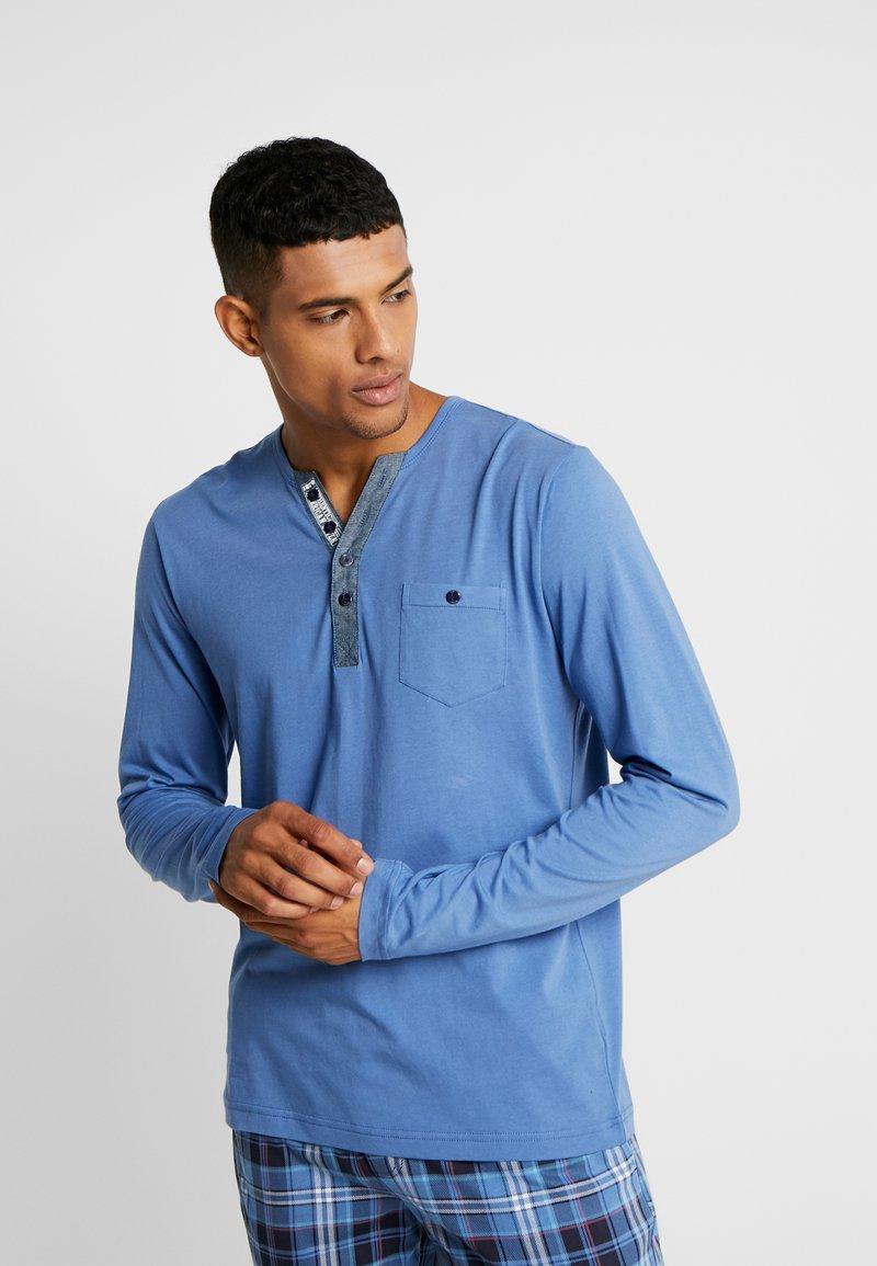 Jockey - LONGSLEEVE - Pyjama top - jeans blue
