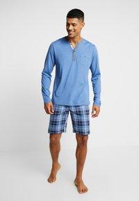 Jockey - LONGSLEEVE - Pyjama top - jeans blue - 1