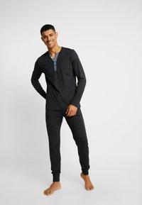 Jockey - LONGSLEEVE - Camiseta de pijama - black - 1
