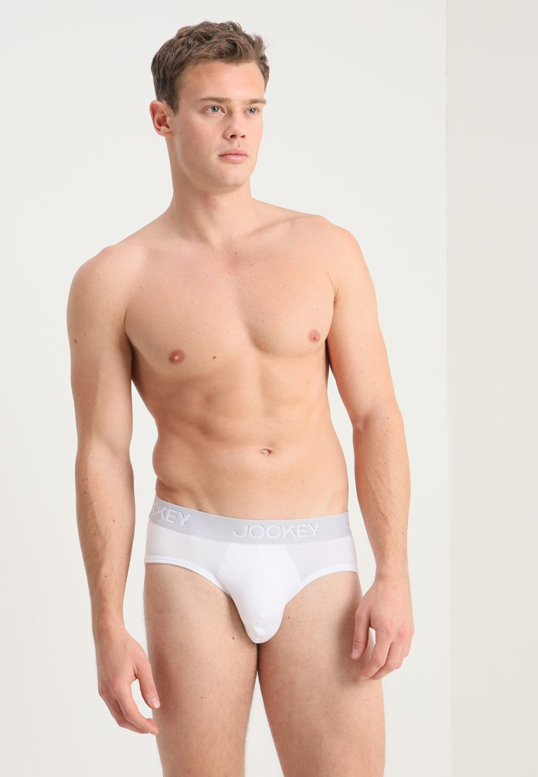 Jockey - BRIEF 2 PACK - Briefs - white