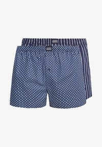 Jockey - 2 PACK - Boxer  - navy - 0