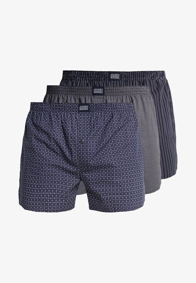 3 PACK - Boxer  - navy