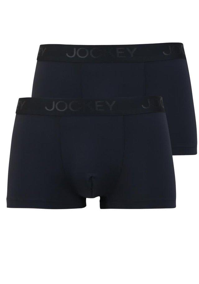 2-PACK - Pants - schwarz