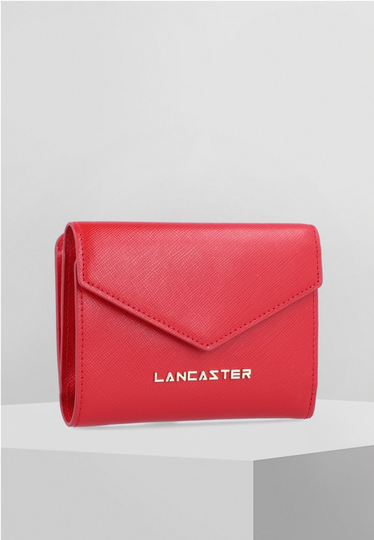 LANCASTER - SAFFIANO SIGNATURE - Geldbörse - red