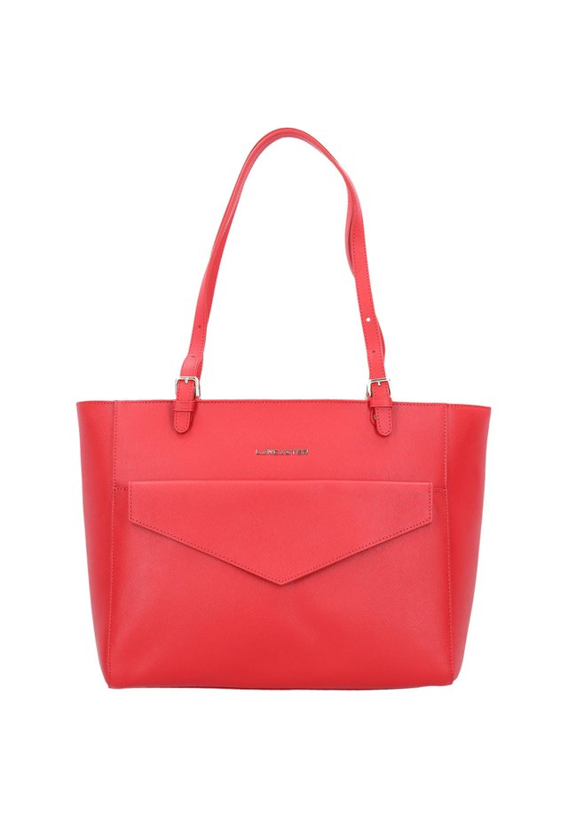 SAFFIANO SIGNATURE  - Shopping bag - rouge