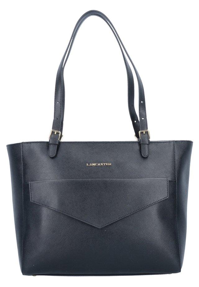 SAFFIANO SIGNATURE  - Shopping Bag - noir
