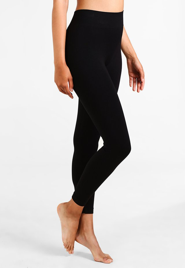 SEAMLESS - Leggingsit - black