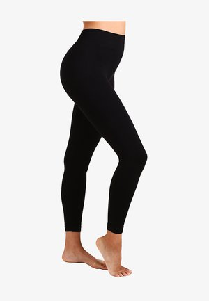 SEAMLESS - Leggings - Stockings - black