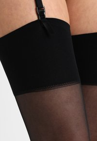 Pretty Polly - DAY TO NIGHT SHEER STOCKINGS 2 PACK - Ylipolvensukat - black - 2