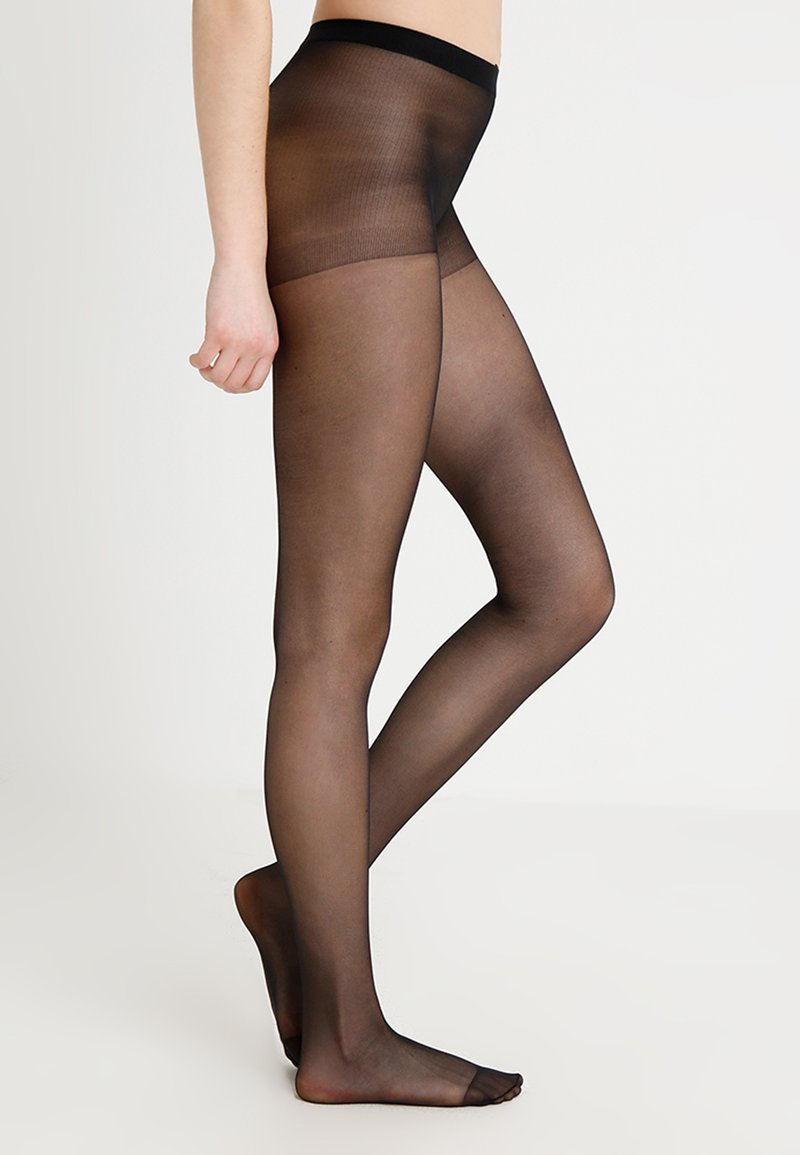 Pretty Polly - DAY TO NIGHT SHEER TIGHTS 3 PACK - Panty - black