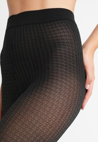 Pretty Polly - DOGTOOTH TIGHT - Tights - black - 2