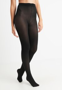 Pretty Polly - DOGTOOTH TIGHT - Tights - black - 0