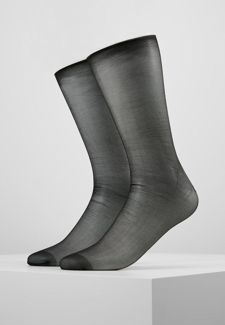 Pretty Polly - FALL DOWN BACKSEAM ANKLETS  - Socken - black