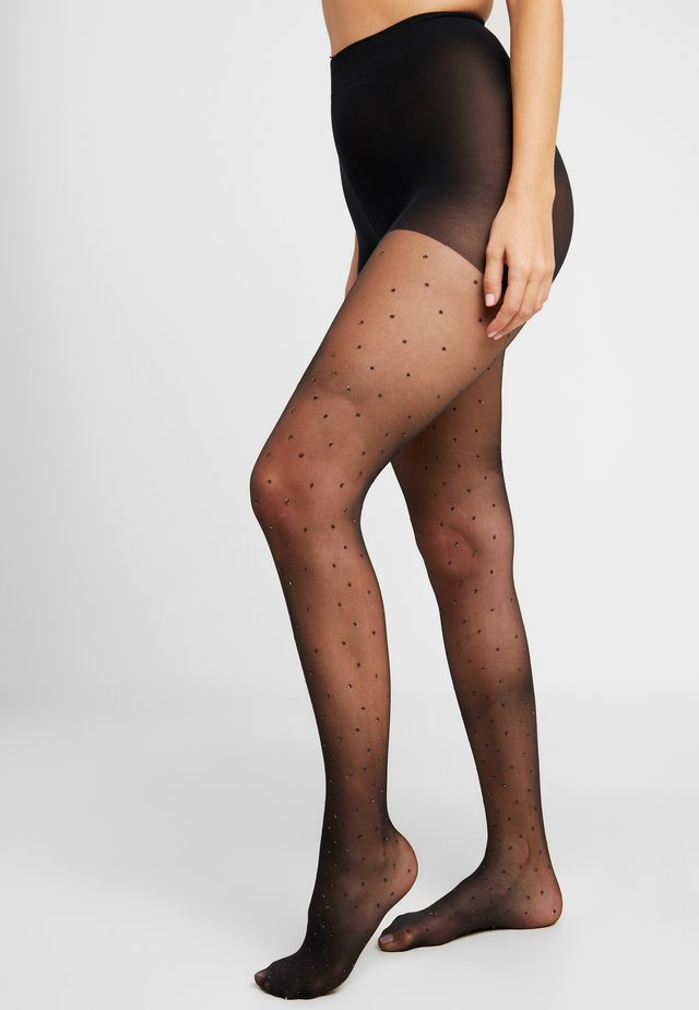 PINSPOT TIGHT - Sukkahousut - black