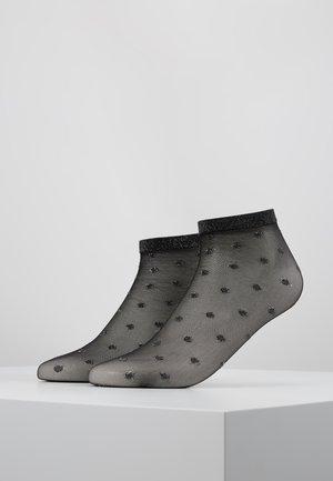 SPOT ANKLET - Socken - black/silver