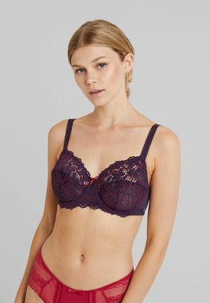 CLÉMENCE BRA - Underwired bra - cassis/rouge bordeaux