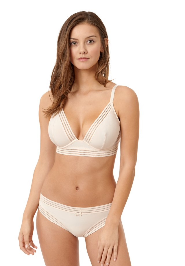 Soutien-gorge triangle - ivory