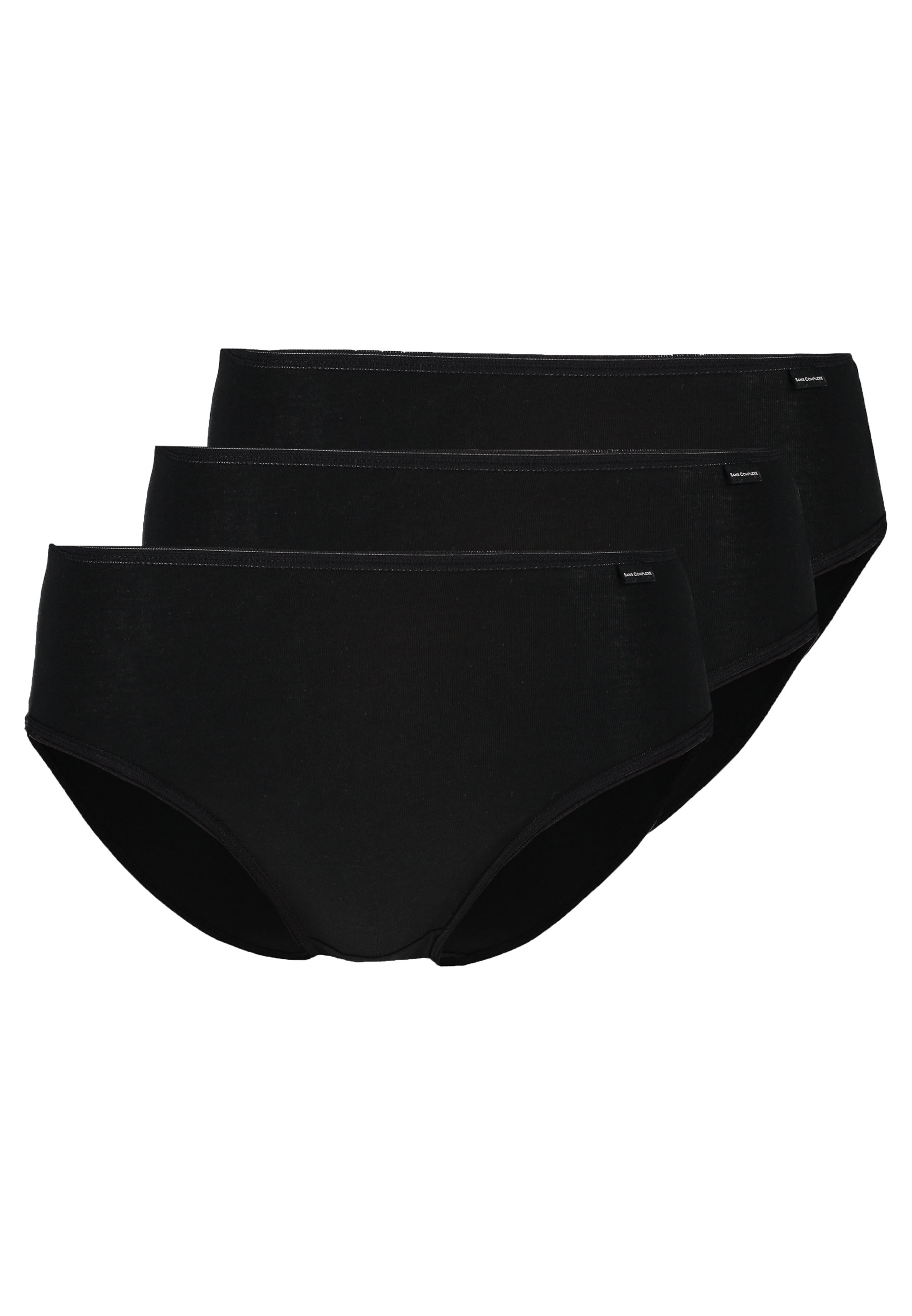Sans Complexe Simplement Brief 3 Pack - Slip Noir
