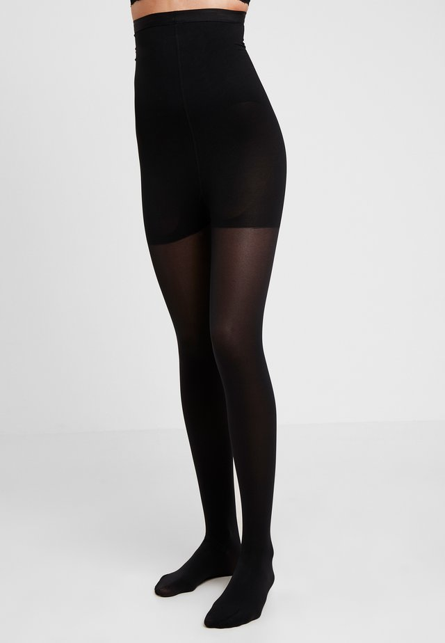 50 DEN WOMAN SHAPE TIGHTS SOFT TOUCH - Strumpbyxor - black