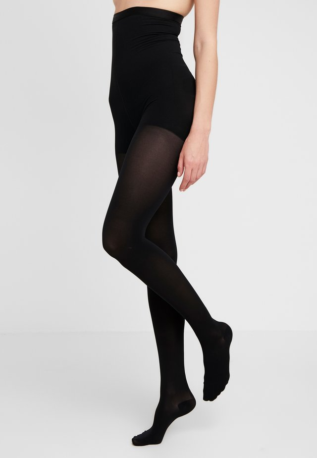 50 DEN WOMAN SHAPE TIGHTS SOFT TOUCH - Sukkahousut - black