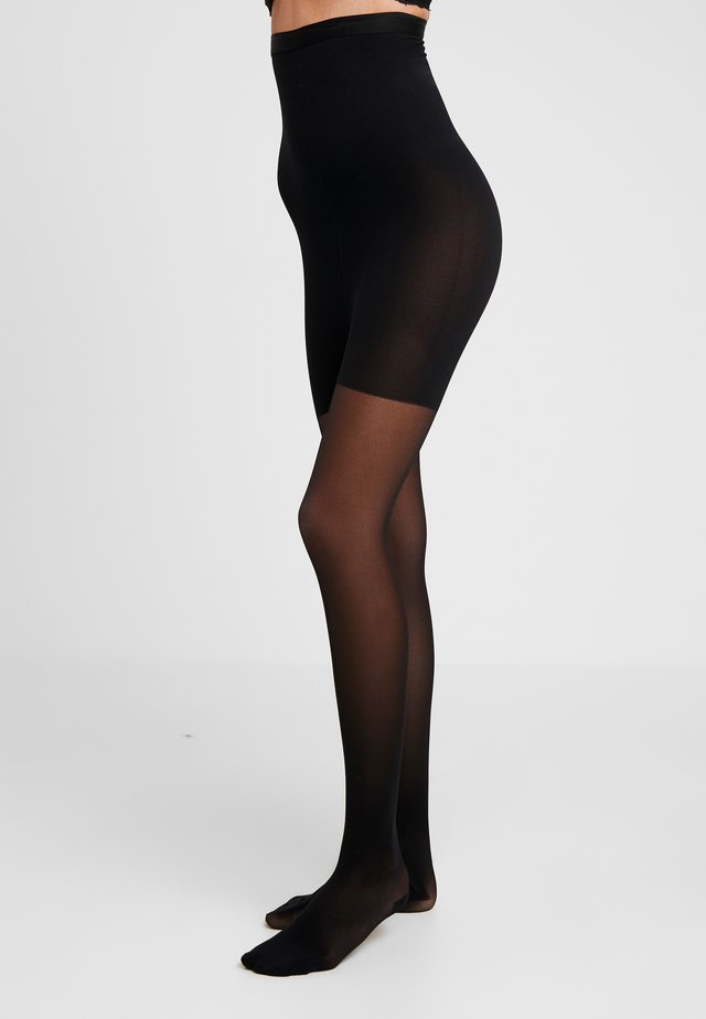 30 DEN WOMAN SHAPE TIGHTS TRANSLUCENT - Strumpbyxor - black