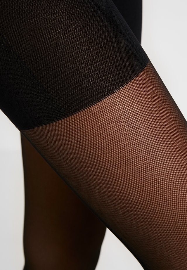30 DEN WOMAN TIGHTS SKYLINE - Sukkahousut - black