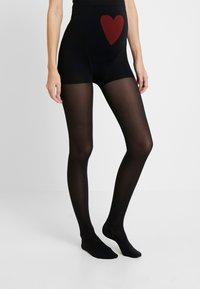 ITEM m6 - 50 DEN WOMAN TIGHTS MAMA  - Tights - black - 0