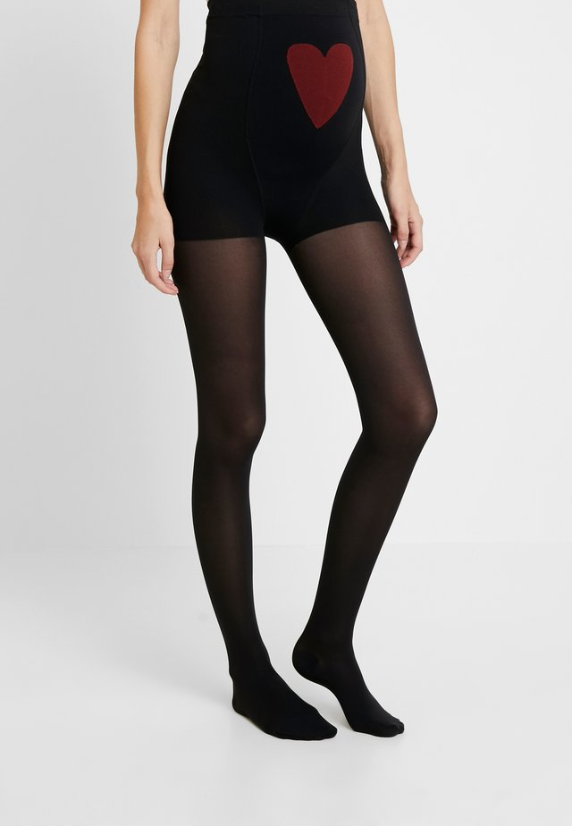50 DEN WOMAN TIGHTS MAMA  - Strumpbyxor - black