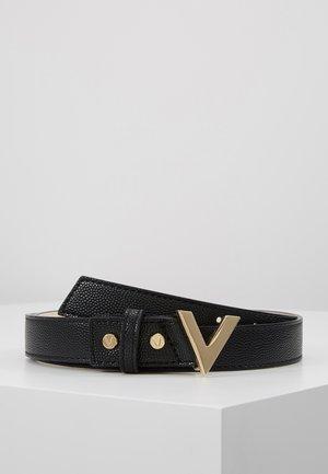 DIVINA - Cintura - black/gold-coloured buckle