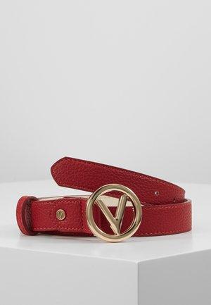 ROUND - Belt - red