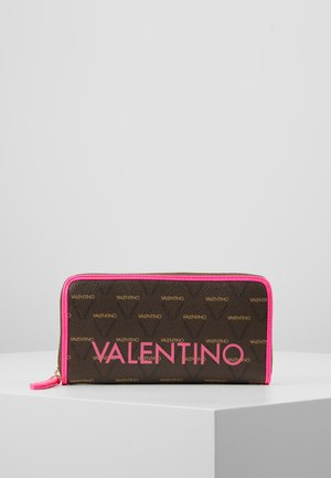 LIUTO FLUO - Lommebok - pink/brown