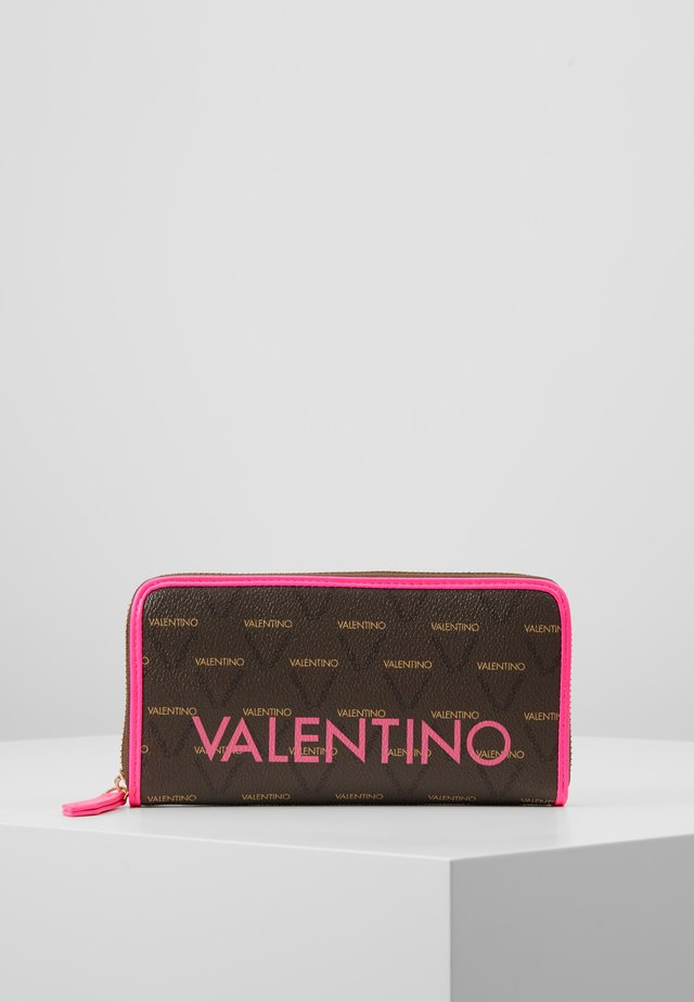 LIUTO FLUO - Wallet - pink/brown