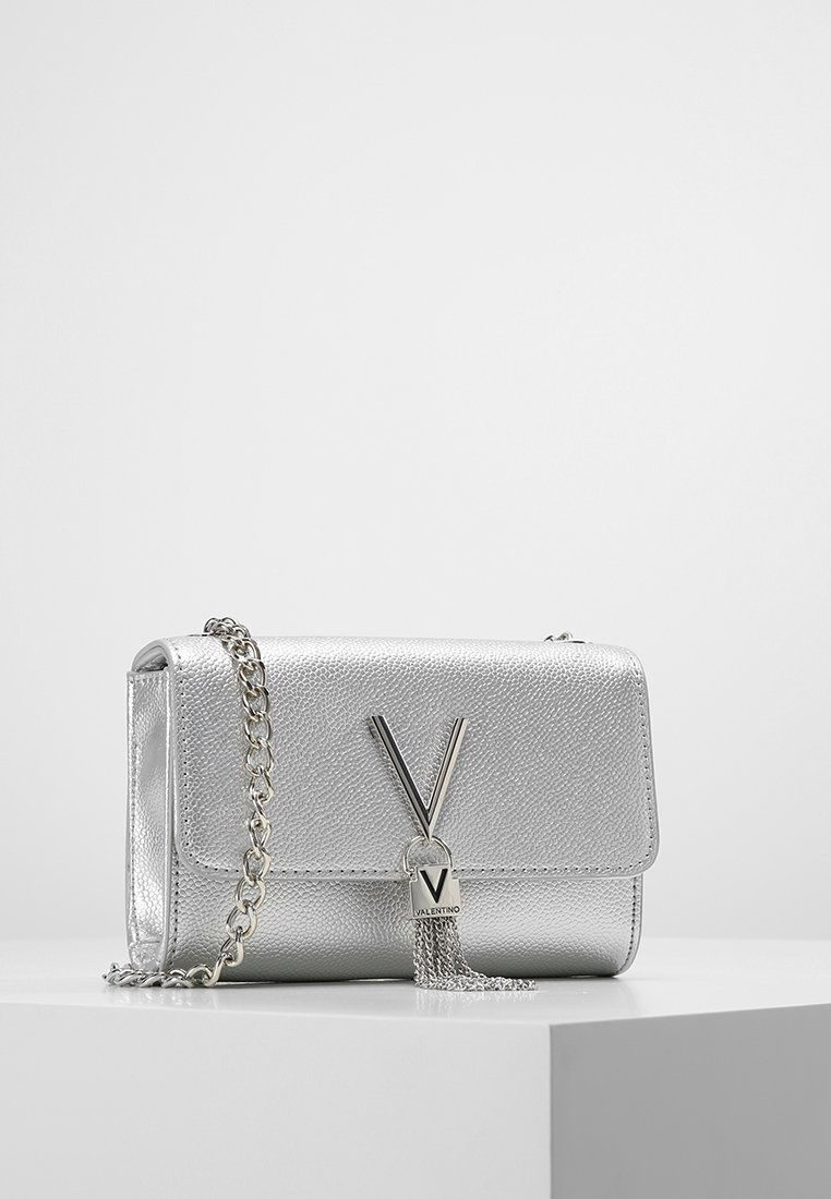 Valentino by Mario Valentino - DIVINA  - Across body bag - argento