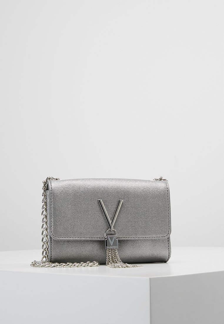 Valentino by Mario Valentino - MARILYN CROSS BODY - Sac bandoulière - argento