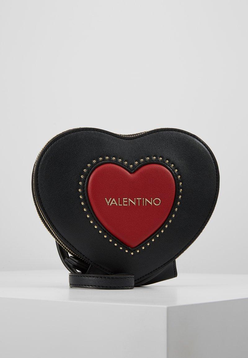Valentino by Mario Valentino - VIOLINO - Across body bag - nero/rosso
