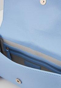 Valentino by Mario Valentino - DIVINA - Taška spříčným popruhem - light blue - 4