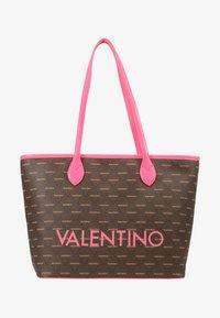 Valentino by Mario Valentino - LIUTO FLUO - Handtas - pink brown - 4