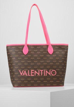 LIUTO FLUO - Handtasche - pink brown