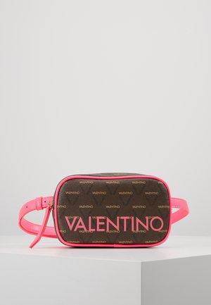 Bum bag - pink / brown