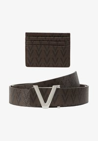 Valentino by Mario Valentino - CRUP BELT AND WALLET HOLDER SET - Riem - moro/nero - 5