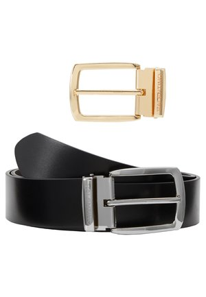 POMY REVERSIBLE BELT SET - Pásek - nero/moro