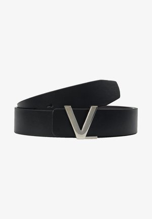 LOGO REVERSIBLE BELT - Belt - nero/moro