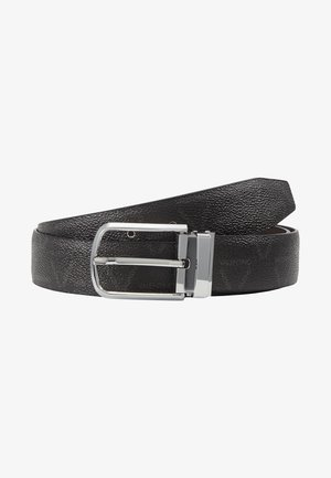 FOX LOGO REVERSIBLE BELT - Pásek - nero/moro