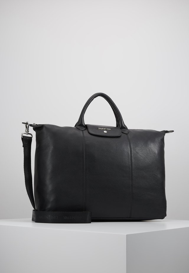 WOLF WEEKENDER TOTE - Weekend bag - nero