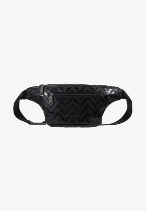 NUTRIA EMBOSSED WAISTBAG - Ledvinka - nero