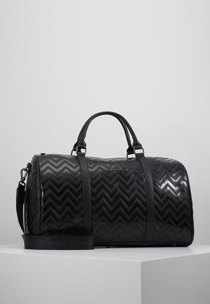 NUTRIA EMBOSSED WEEKENDER - Sac week-end - nero