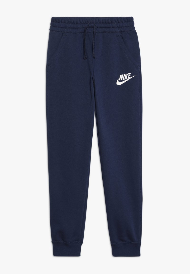 Nike Sportswear - CLUB PANT - Tracksuit bottoms - midnight navy/white