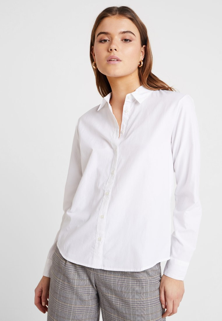 b.young - FARSARA - Button-down blouse - optical white