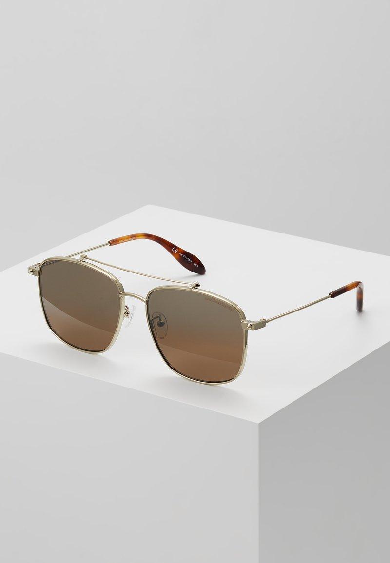 Alexander McQueen - Sluneční brýle - brown